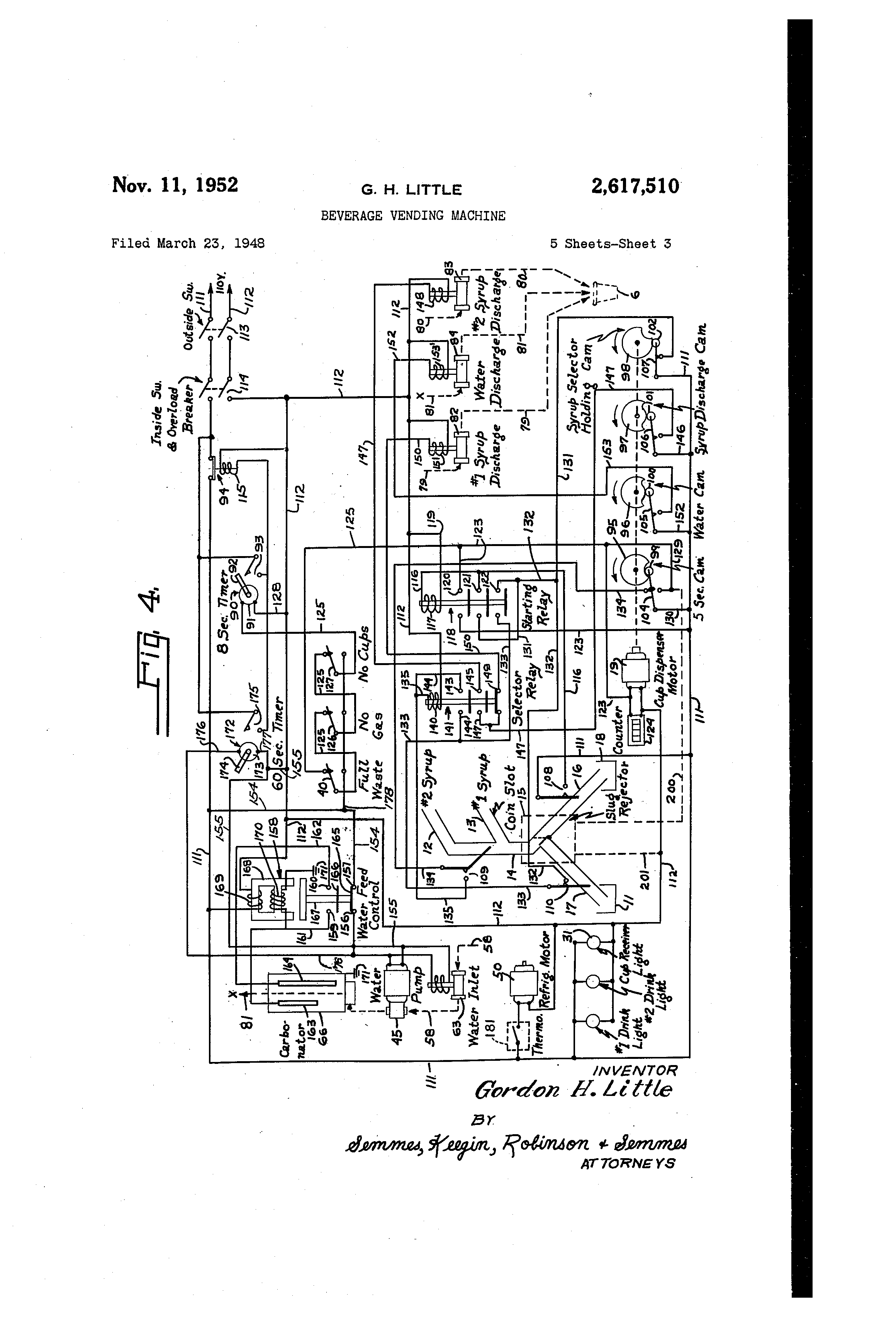 Pepsi Machine Wiring Diagram