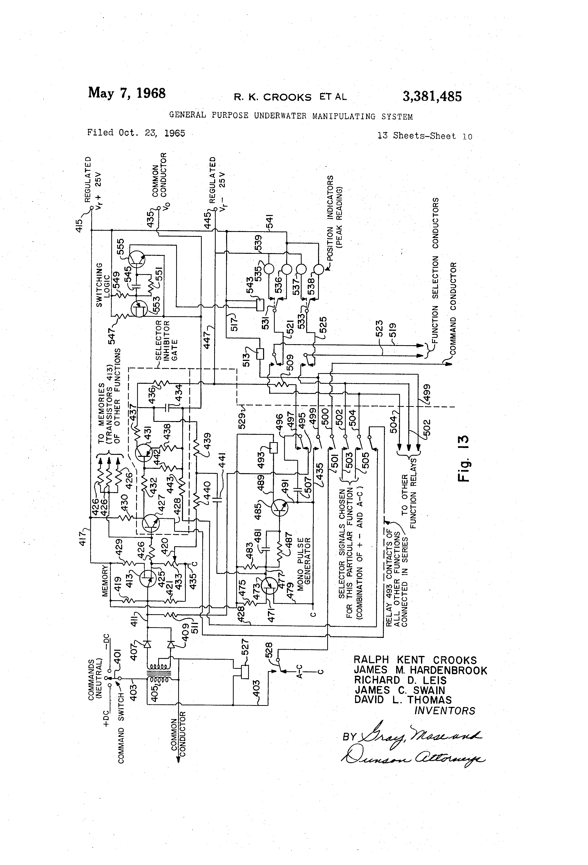 US3381485 9 ea190vs5050 wiring diagram diagram wiring diagrams for diy car  at crackthecode.co