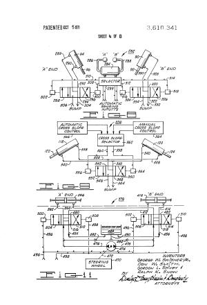 Patent US3610341  Motrader control system  Google