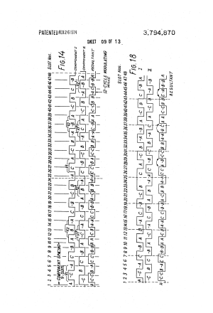 Patent US3794870  Threephase, polechanging motor