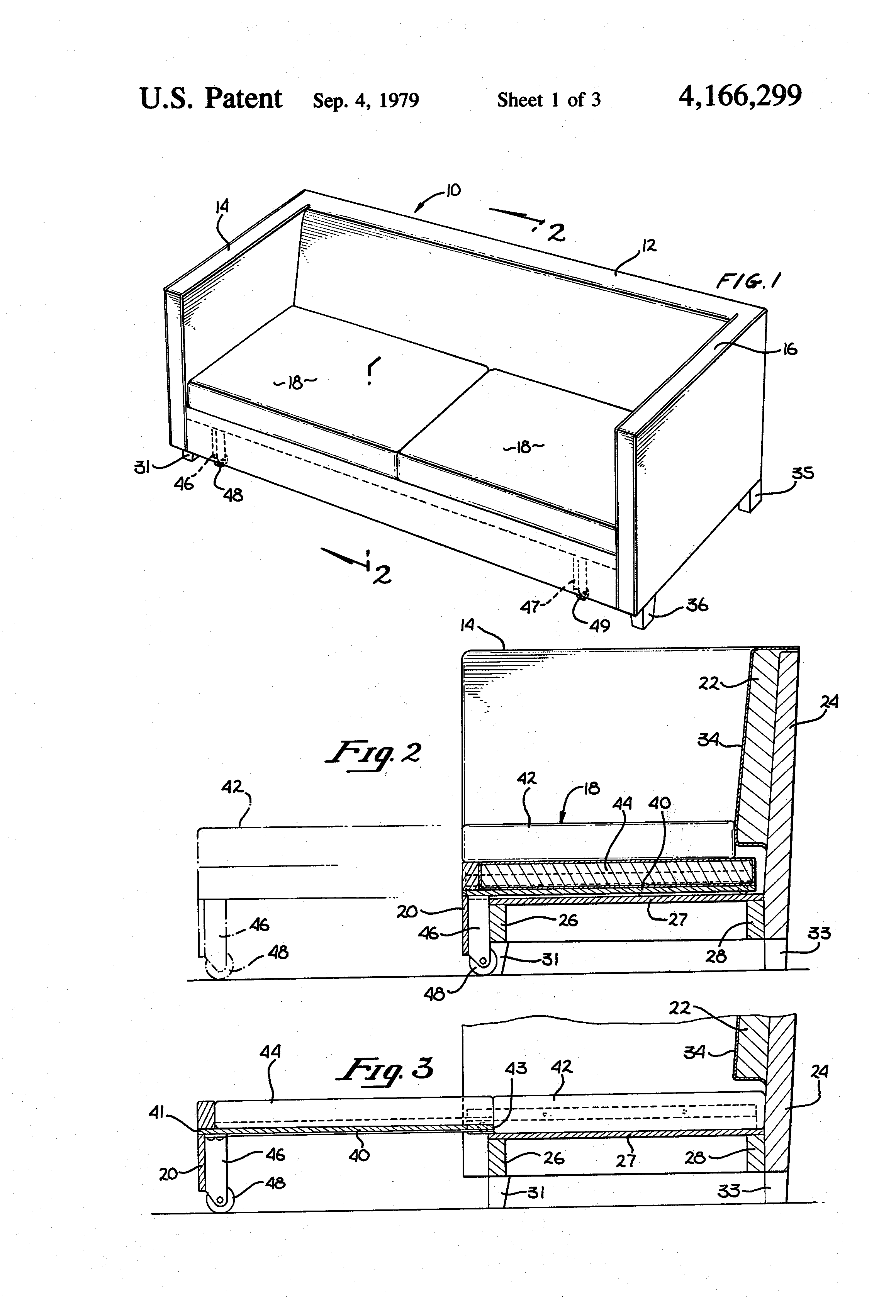 Sofa Sectional Drawing