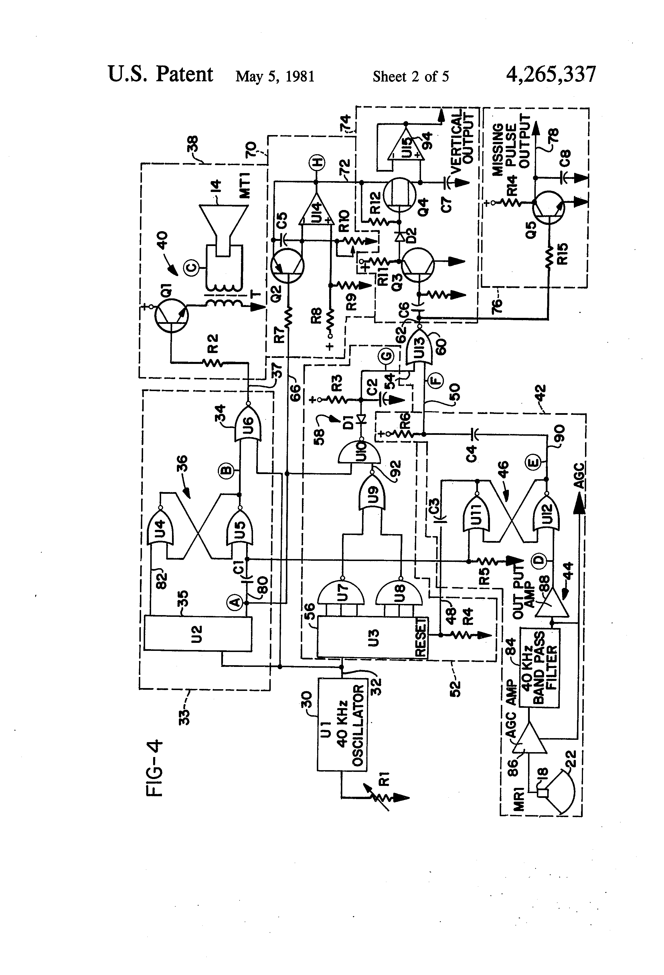 US4265337-2  Sd Pool Pump Wiring Diagram on above ground, for harris, gfci breaker, 00 ao smith, pentair 115v whisperflo,