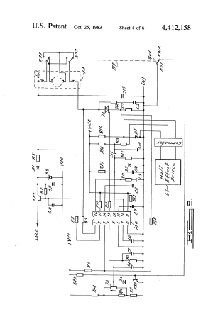 Patent US4412158  Speed control circuit for an electric
