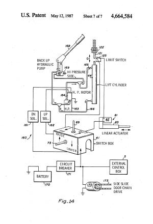 Patent US4664584  Rotary wheelchair lift  Google Patents