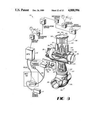 Patent US4888996  DC motor operated valve remote monitoring system  Google Patents