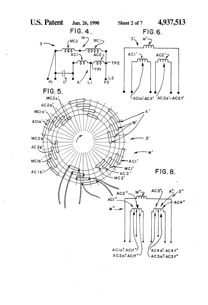 ceiling fan coil winding diagram formula