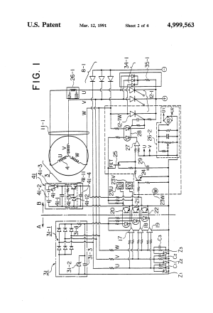Patent US4999563  Separately powerfeeding welding