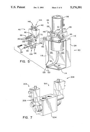 Patent US5176391  Vehicle leveling system  Google Patents