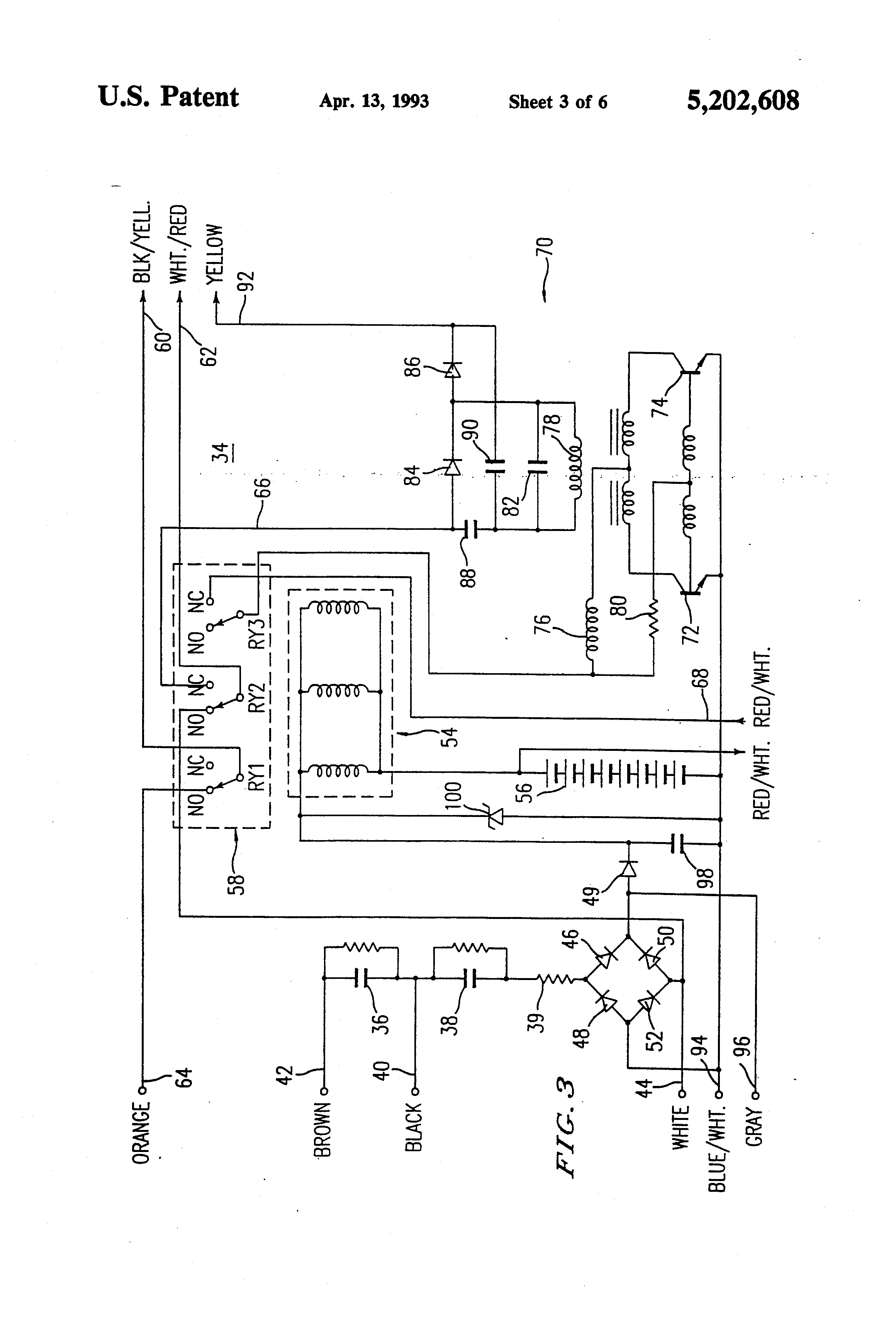 Internal Ballast Wiring Diagram
