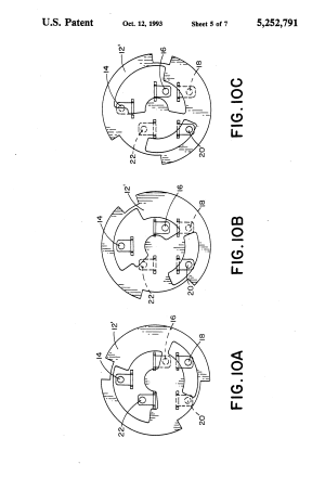 Patent US5252791  Ignition switch  Google Patents