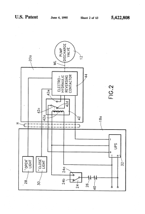 Patent US5422808  Method and apparatus for failsafe control of at least one electro