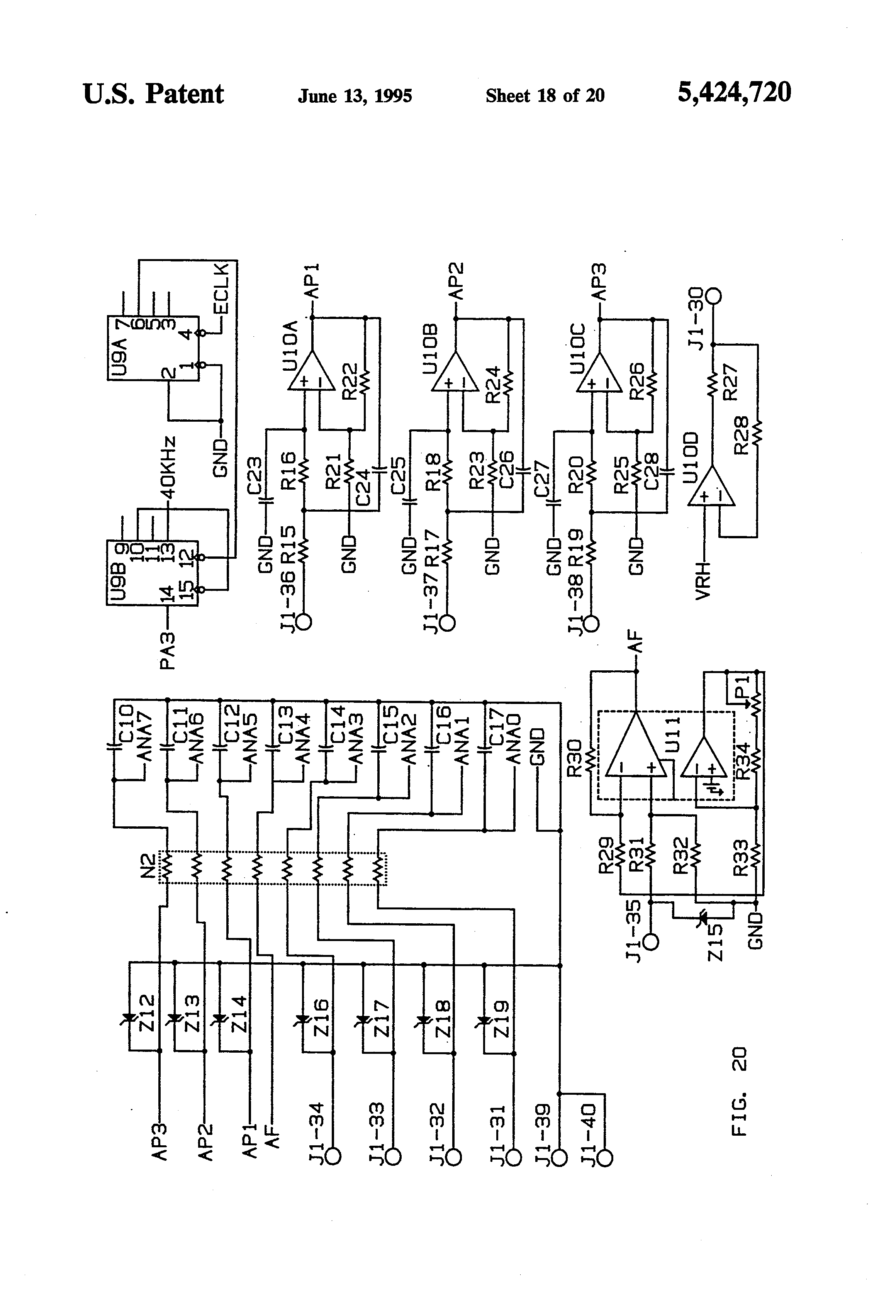 US5424720 18?resize\\\\\\\=665%2C977 2005 international 4200 wire diagram wiring diagrams international dt466 idm wire diagram at bayanpartner.co