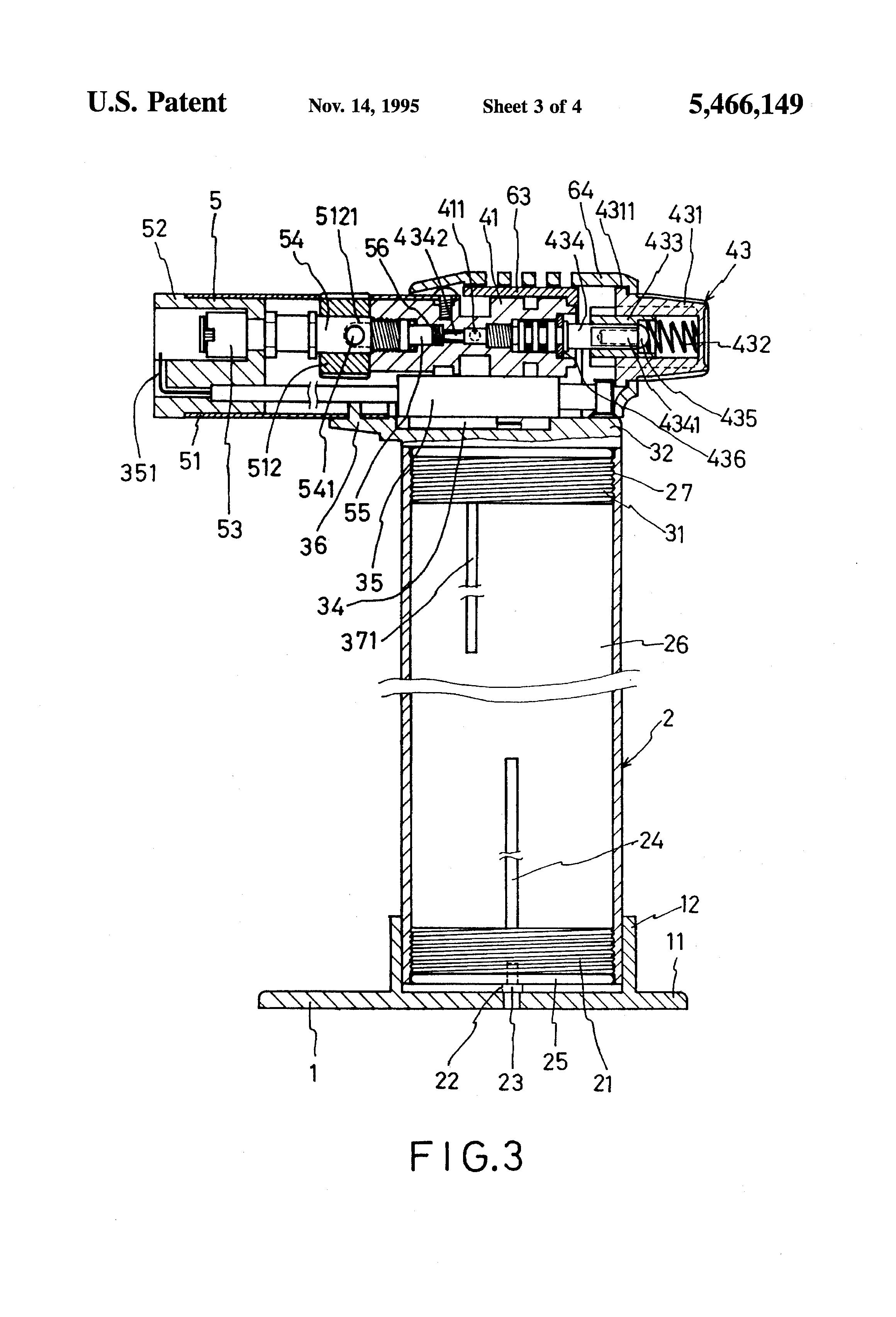 Gas Lighter Schematic