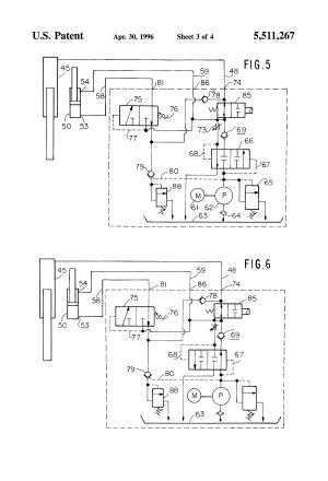 Patent US5511267  Dock leveler hydraulic circuit  Google