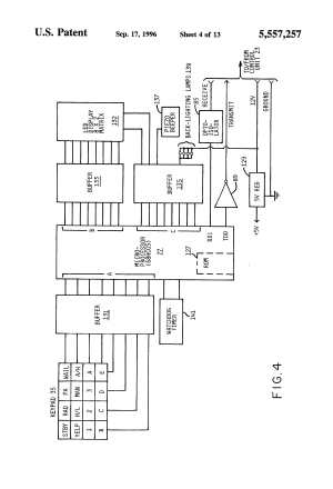 Patent US5557257  Programmable emergency signalling system for a vehicle  Google Patents
