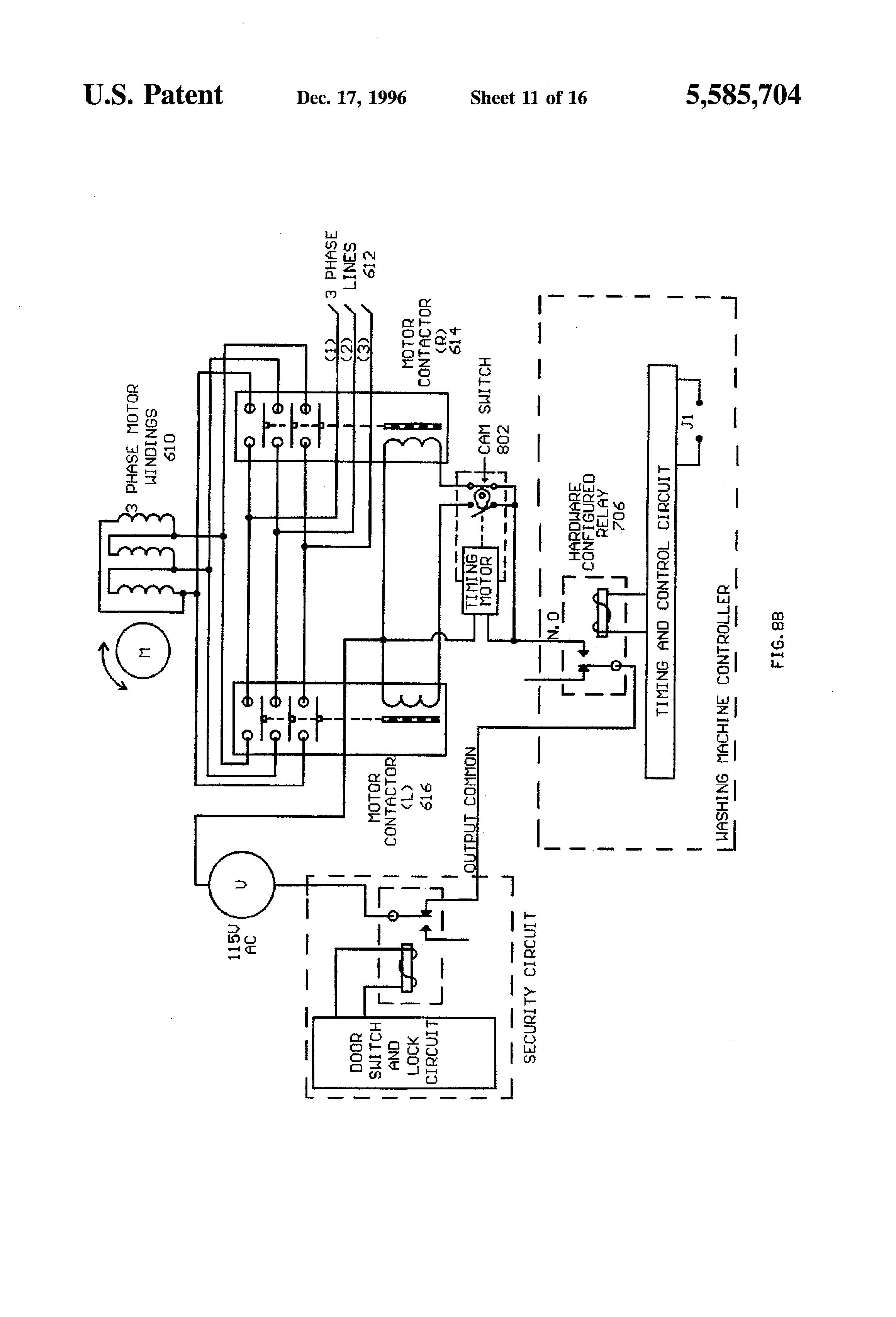 Washing Machine Motor Winding Diagram