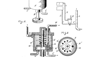 Henry Ford Random Patents #8 US 610040 Carburetor 1898