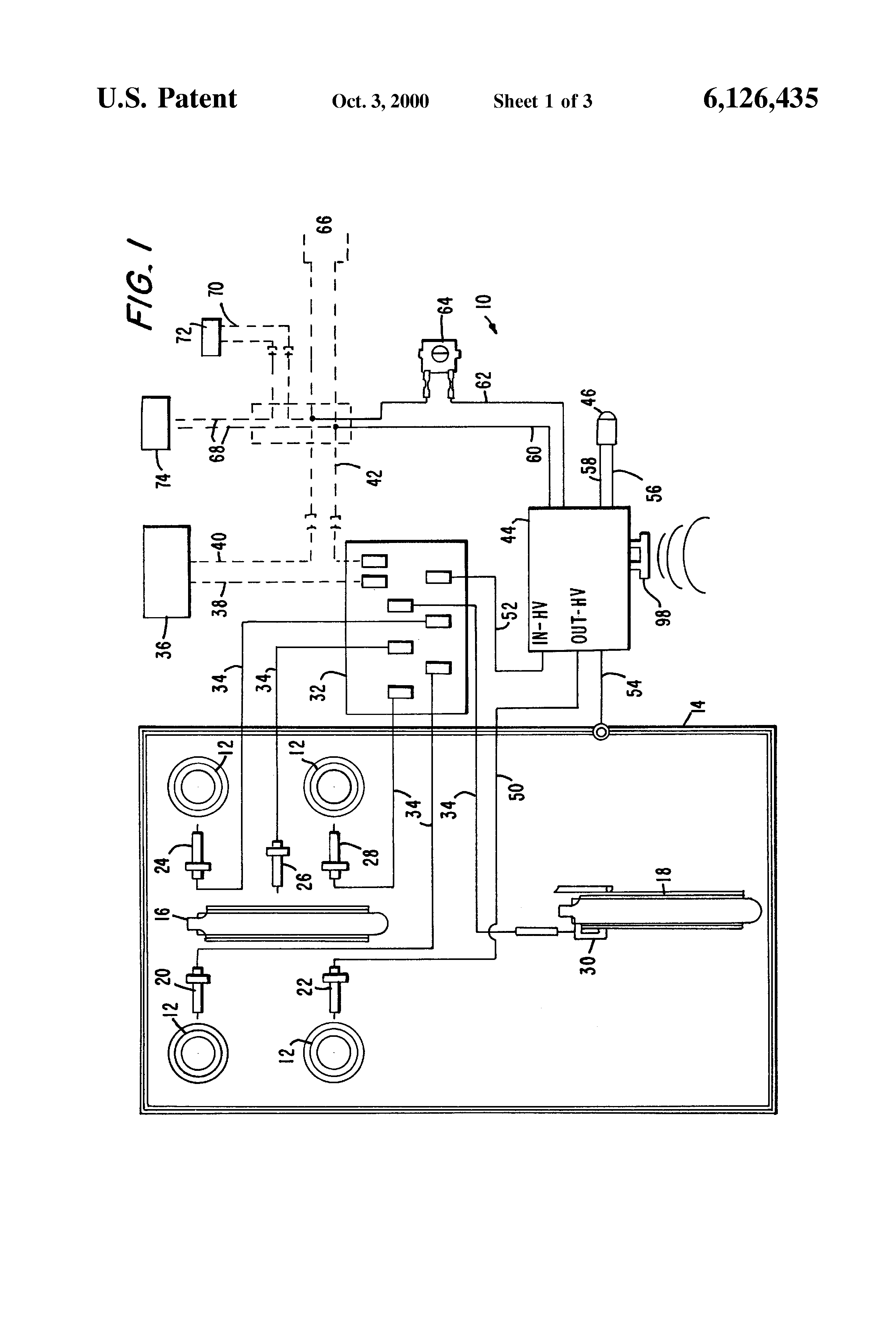 Gas Stove Circuit