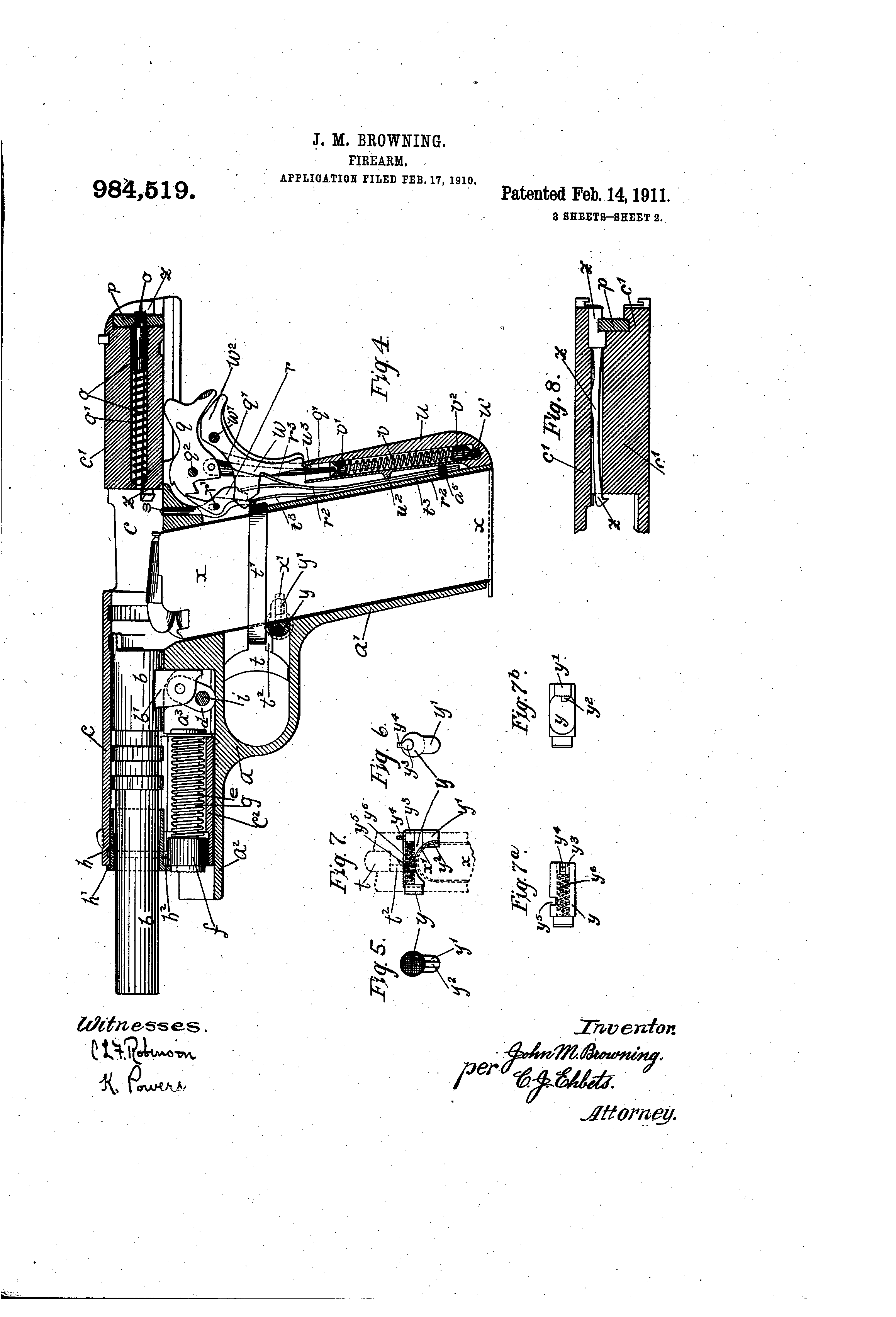 A Little Invention By Jmb Was Patented On This Day In