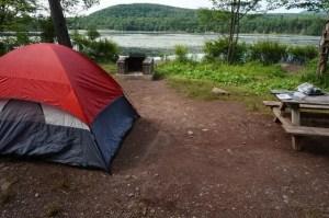 Campsite at North-South Lake
