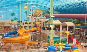 Indoor Water Park for Chol HaMoed
