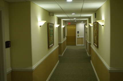 Hallway to Guest Rooms