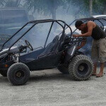 Prepping the ATVs
