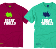 I Beat Trolls t-shirt