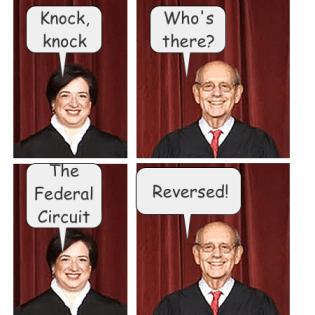 SCOTUS v. CAFC