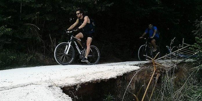 Imagen del Parque Fluvial a su paso por Paterna