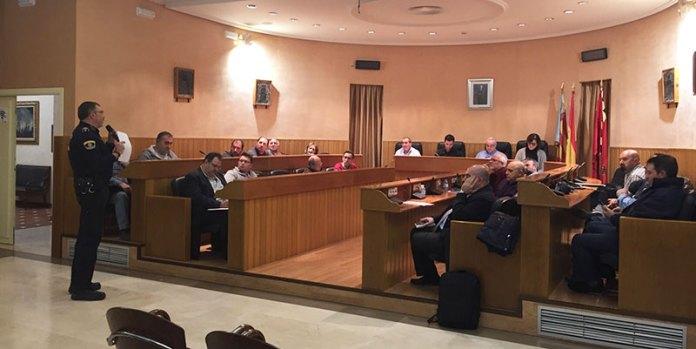 Consejo Sectorial de Seguridad y Convivencia de Paterna