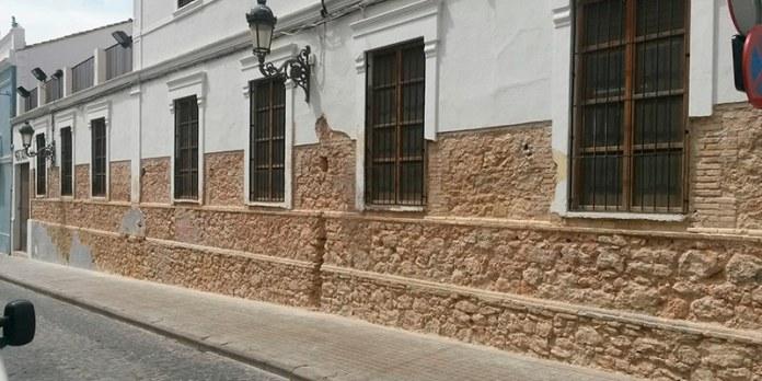 Fachada del Mercado Municipal de Paterna