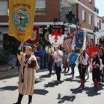 Instante del desfile del Mig Any