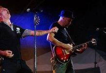 Instante del concierto de Seguridad Social en Paterna