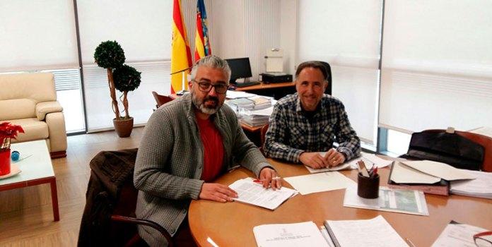 Ramón y Raya durante su reunión