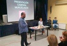 Carles Martí durante la presentación de la Campaña