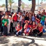 Participantes en la visita a la Vallesa