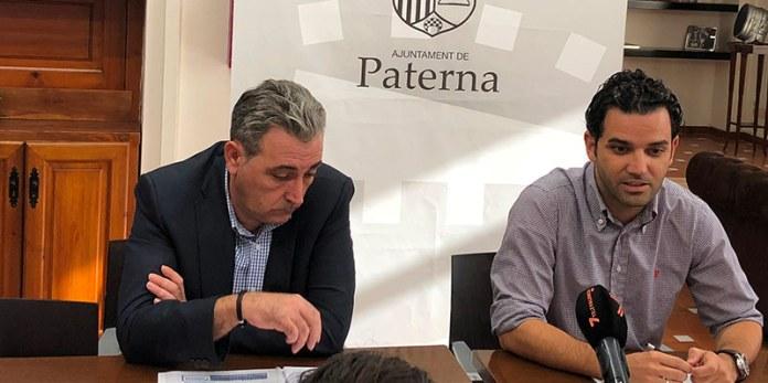 Sagredo y Martínez durante la presentación del SIG