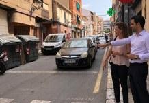 Sagredo y Campos en la calle San Antonio