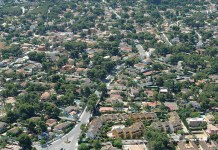 Vista aérea de La Canyada