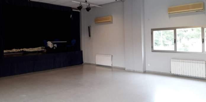 Salón de actos del Centro Social de la Canyada