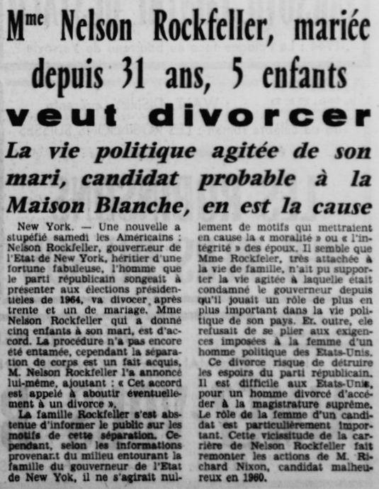 La République des Pyrénées, nº 5282, 20 novembre 1961, p. 1