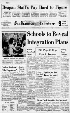 San Francisco Examiner, nº 195, 12/02/1969, p. 1