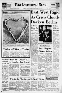 Fort Lauderdale News, Vol. 59, nº 114, 14 février 1969, p. 1