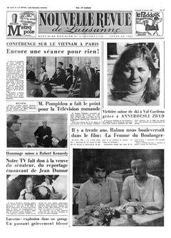Nouvelle Revue de Lausanne, nº 37, 14/02/1969, p. 1