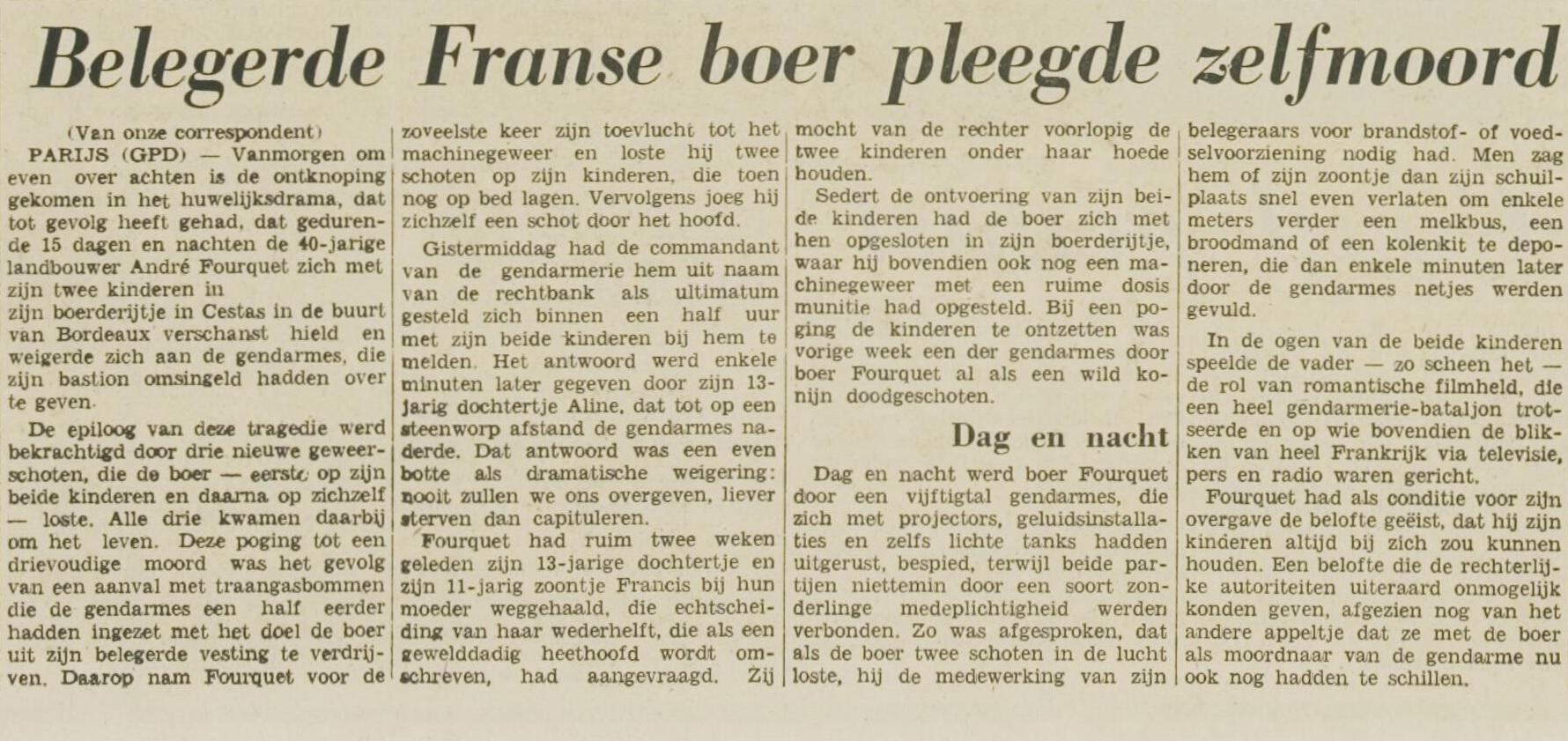 Leidsch Dagblad, nº 32716, 17 février 1969, p. 2