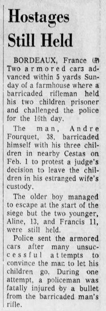 Orlando Sentinel, vol. 84, nº 280, 17/02/1969, p. 6-C