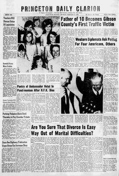 Princeton Daily Clarion, 17/02/1969, p. 1