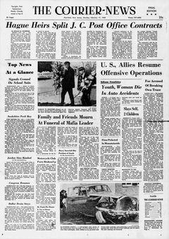 The Courier-News, 17 février 1969, p. 1