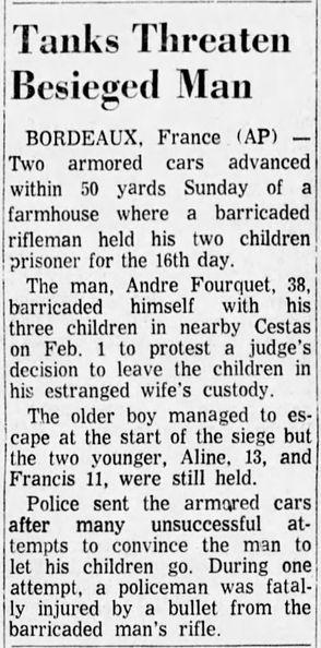 The Shreveport Times, vol. 98, nº 82, 17 février 1969, p. 8-B